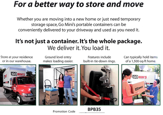 For a better way to store and move...